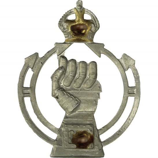 additional image for WW2 Royal Armoured Corps RAC Cap Badge