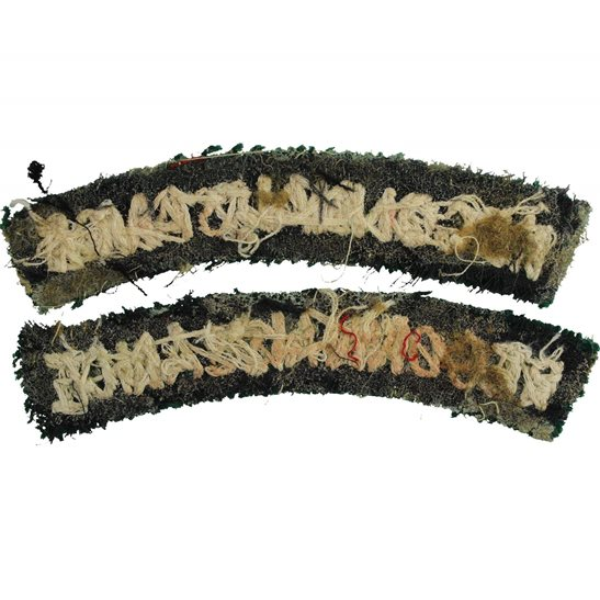 additional image for WW2 Reconnaissance Corps Cloth Shoulder Title Badge Flash PAIR