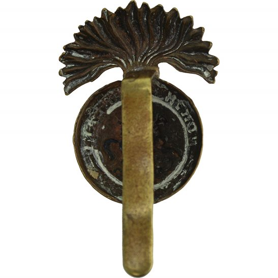 additional image for WW1 Northumberland Fusiliers Regiment Cap Badge - FIRST PATTERN