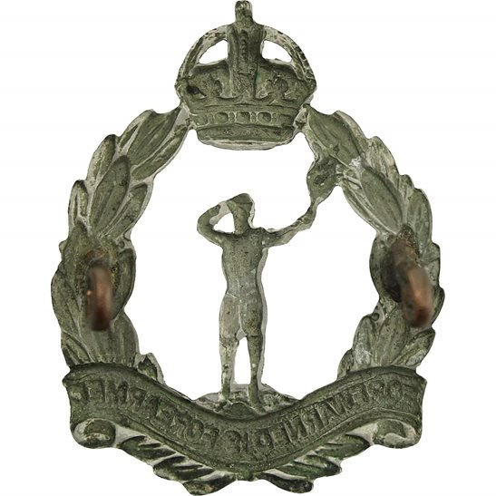 additional image for WW2 Royal Observer Corps ROC Cap Badge