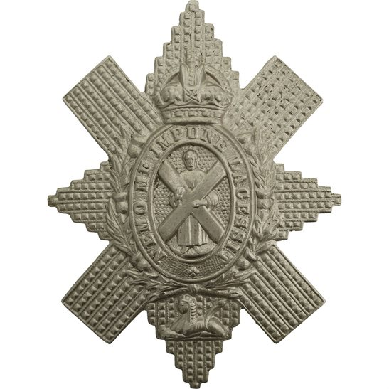 Black Watch WW2 Royal Highland (Black Watch) Regiment Cap Badge