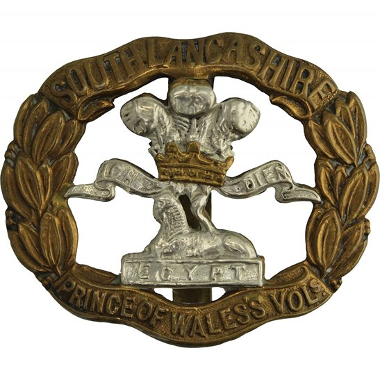 South Lancashire WW2 South Lancashire Regiment Cap Badge
