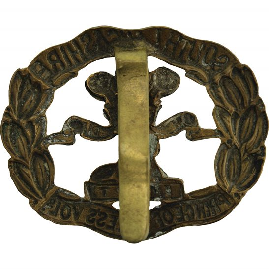 additional image for WW2 South Lancashire Regiment Cap Badge