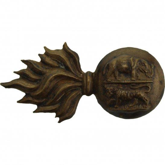 Royal Dublin Fusiliers WW1 Royal Dublin Fusiliers Regiment RDF Collar Badge