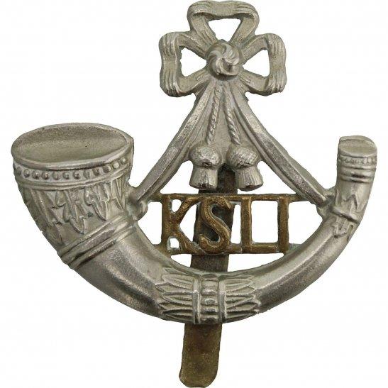 Kings Shropshire Light Infantry KSLI WW1 Kings Shropshire Light Infantry KSLI Regiment (King's) Cap Badge