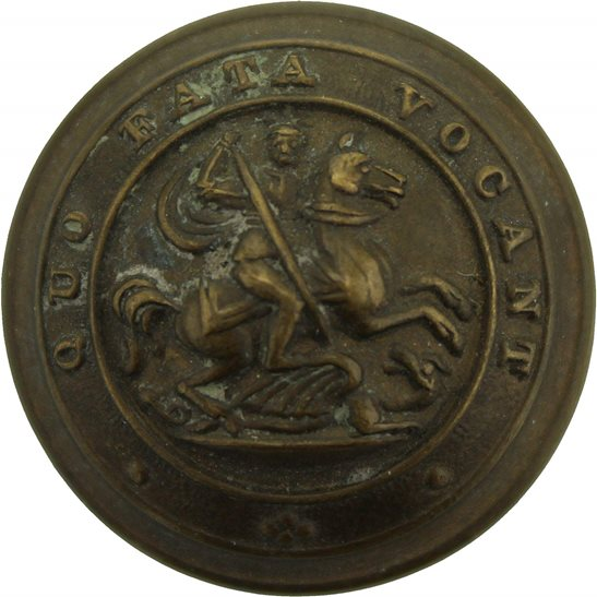 Northumberland Fusiliers Royal Northumberland Fusiliers Regiment Tunic Button - 26mm