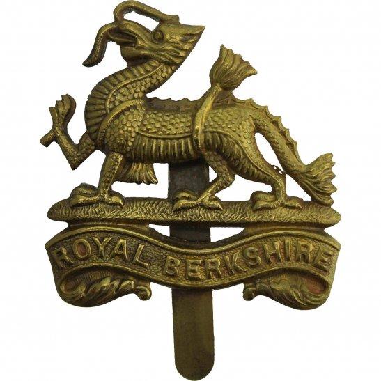 Royal Berkshire WW2 Royal Berkshire Regiment Cap Badge
