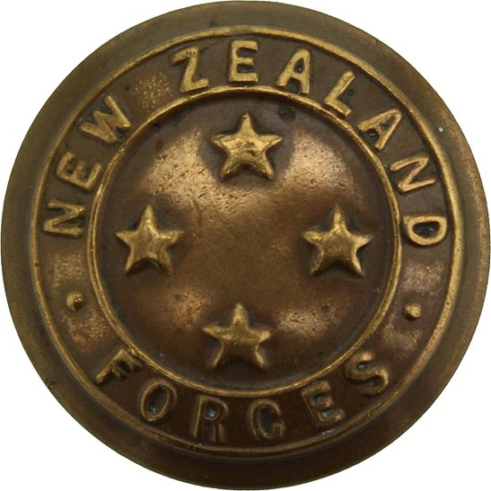 WW1 New Zealand Army New Zealand Army Forces NZEF Corps Button - 24mm