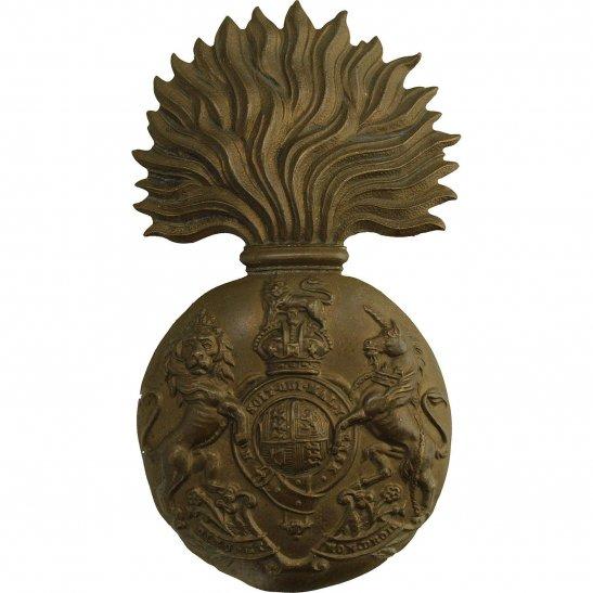 Royal Scots Fusiliers WW2 Royal Scots Fusiliers (Scottish) Regiment Cap Badge
