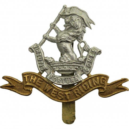 West Riding WW2 Duke of Wellingtons West Riding Regiment Cap Badge