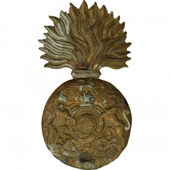 additional image for WW2 Royal Scots Fusiliers (Scottish) Regiment Cap Badge