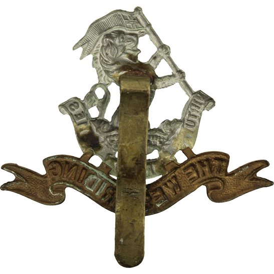 additional image for WW2 Duke of Wellingtons West Riding Regiment Cap Badge