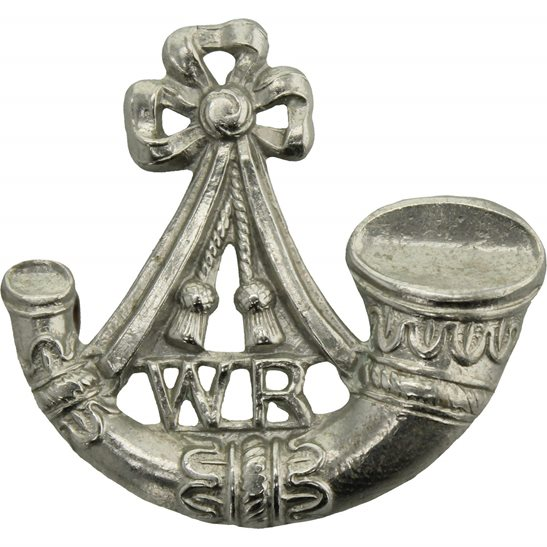 South African Army South African Witwatersrand Rifles Regiment Collar Badge
