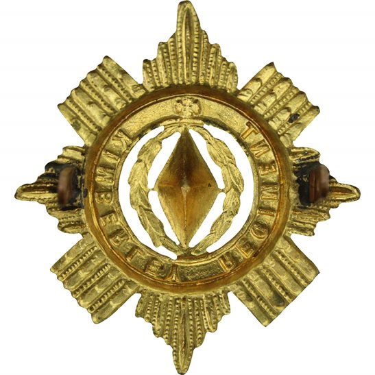 additional image for South African Kimberley Rifles Regiment Africa Cap Badge