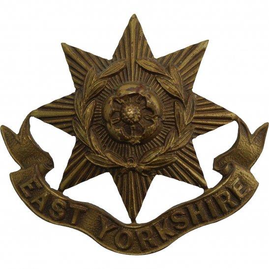 East Yorkshire East Yorkshire Regiment OFFICERS Bronze Collar Badge
