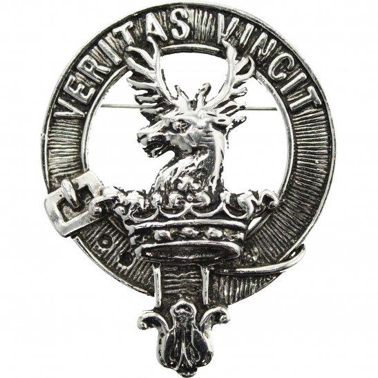 Scottish CLAN KEITH Brooch Sporran Kilt Lapel Pin Badge VERITAS VINCIT Stag