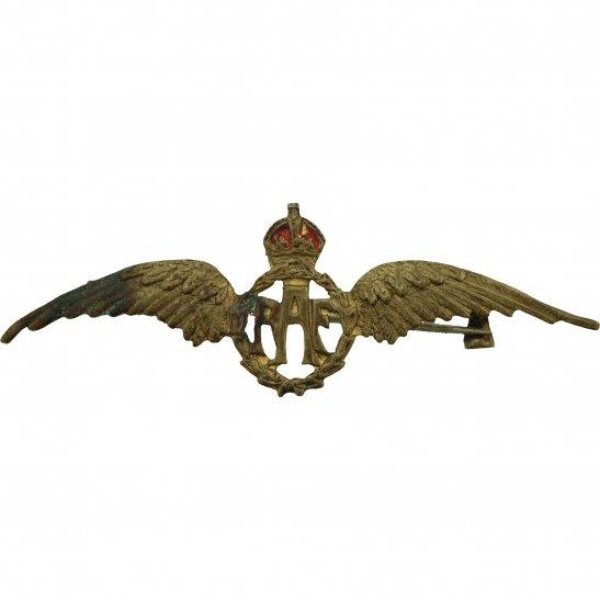 Royal Air Force RAF WW2 Royal Air Force RAF Wings Sweetheart Brooch - 50mm