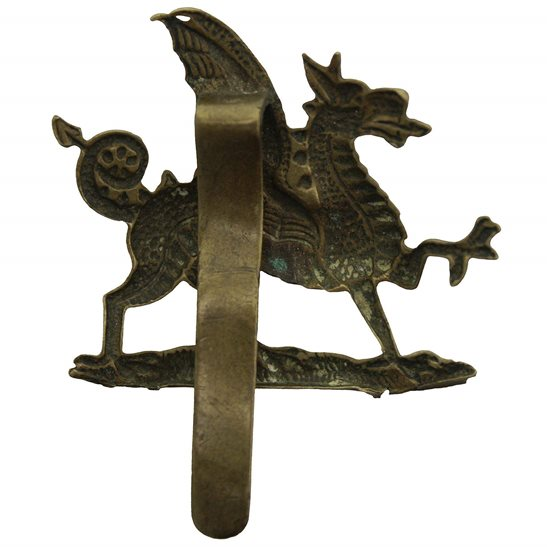 additional image for WW1 1st Monmouthshire Regiment Cap Badge - First Pattern