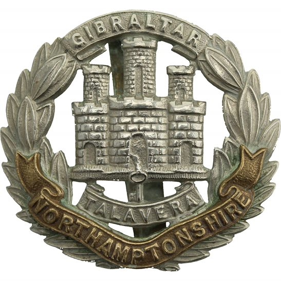 Northamptonshire Regiment WW1 Northamptonshire Regiment Cap Badge