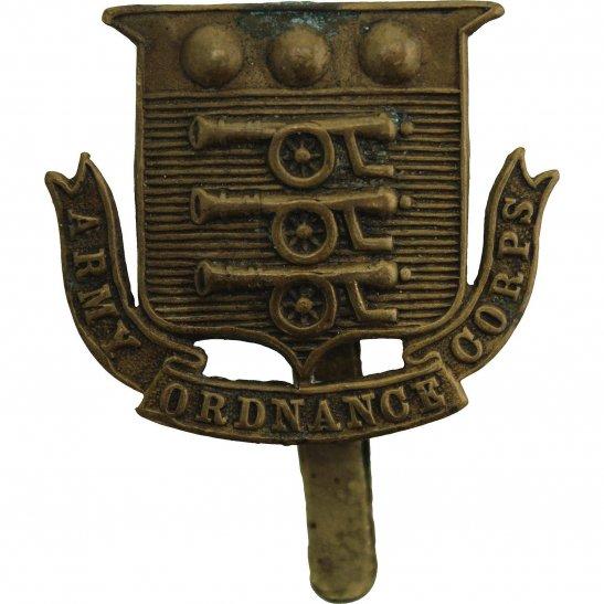 Army Ordnance Corps WW1 Army Ordnance Corps AOC Cap Badge