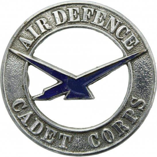 Royal Air Force RAF WW2 Air Defence Cadet Corps Royal Air Force RAF Cap Badge