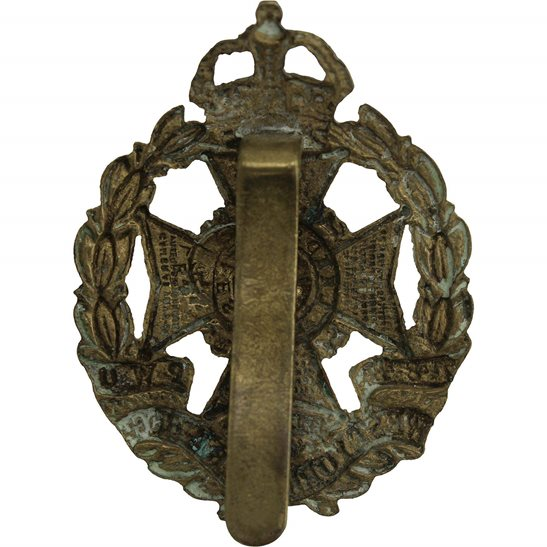 additional image for WW1 7th & 8th (Leeds Rifles) Battalions, West Yorkshire Regiment Cap Badge