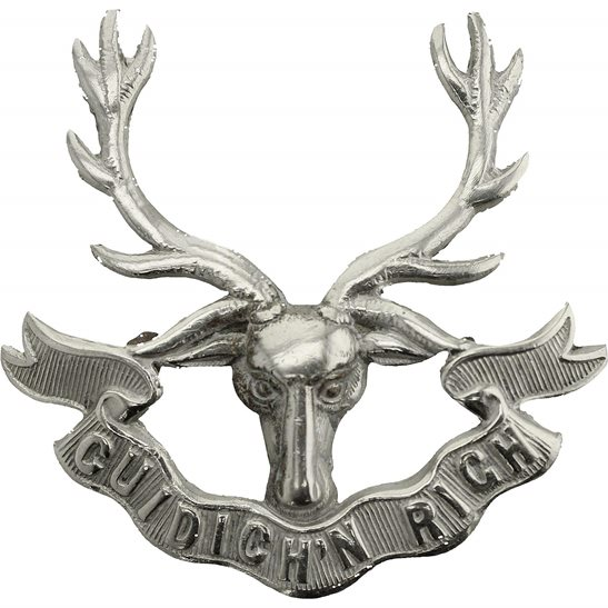 Seaforth Highlanders WW1 Seaforth Highlanders Regiment Cap Badge 3X LUGS VERSION