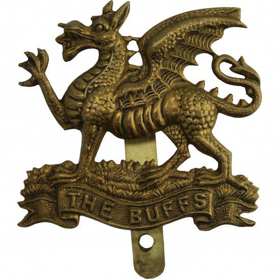 Buffs (Royal East Kent) WW2 Royal East Kent (The Buffs) Regiment Cap Badge