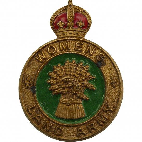 Womens Land Army WW2 Womens Land Army WLA (Women's) Lapel Badge