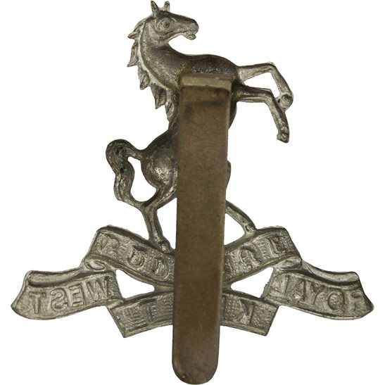 additional image for WW1 Queens Own Royal West Kent Regiment RWK Cap Badge