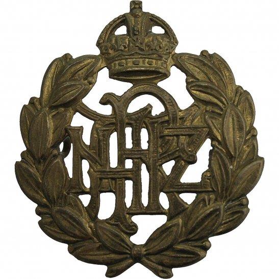 WW2 New Zealand Army WW2 Royal New Zealand Air Force RNZAF Cap Badge