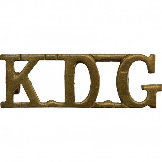 1st Kings Dragoon Guards 1st Kings Dragoon Guards Regiment KDG (King's) Shoulder Title