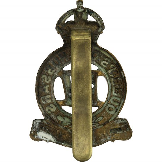 additional image for 4th Queens Own Hussars Regiment Queen's Cap Badge