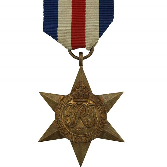 WW2 France and Germany Star Campaign Medal - FULL SIZE
