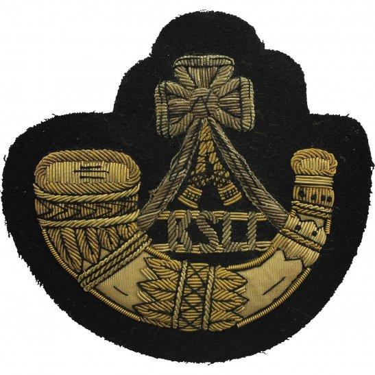 Kings Shropshire Light Infantry KSLI Kings Shropshire Light Infantry KSLI Cloth Veterans Blazer Badge Patch