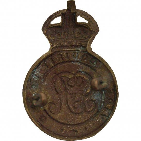 additional image for WW1 Royal Military Academy Sandhurst Officers Training Corps OTC Cap Badge