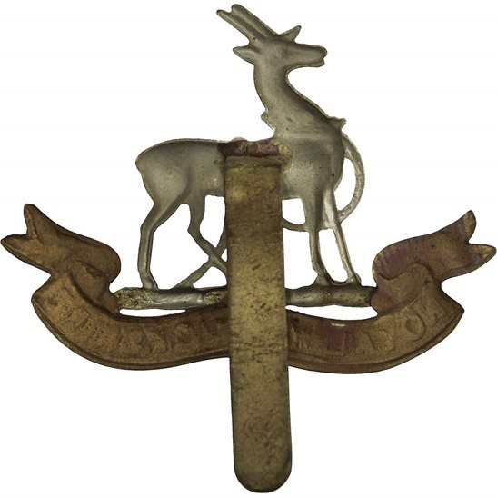 additional image for WW1 Royal Warwickshire Regiment Cap Badge