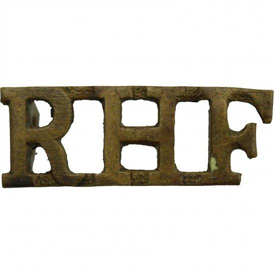 Royal Highland Fusiliers Scottish Regiment Shoulder Title