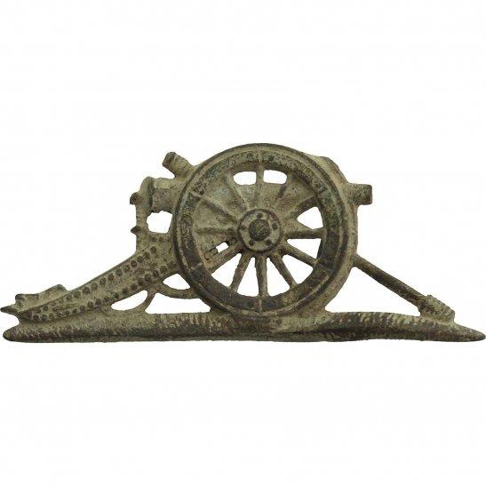 Royal Artillery UK Dug Detecting Find - WW1 Royal Artillery Regiment Relic NCO Arm Badge