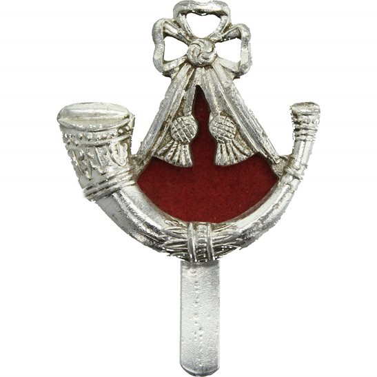 The Light Infantry Brigade Staybrite Anodised Cap Badge - Staybright