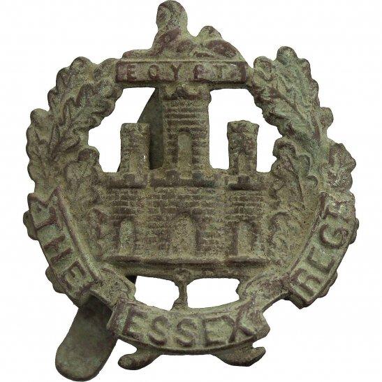 Essex Regiment UK Dug Detecting Find - WW1 The Essex Regiment Relic Cap Badge