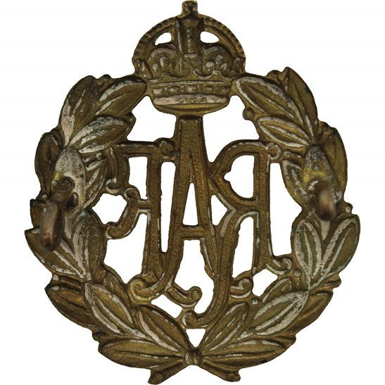 additional image for WW1 Royal Air Force RAF Cap Badge