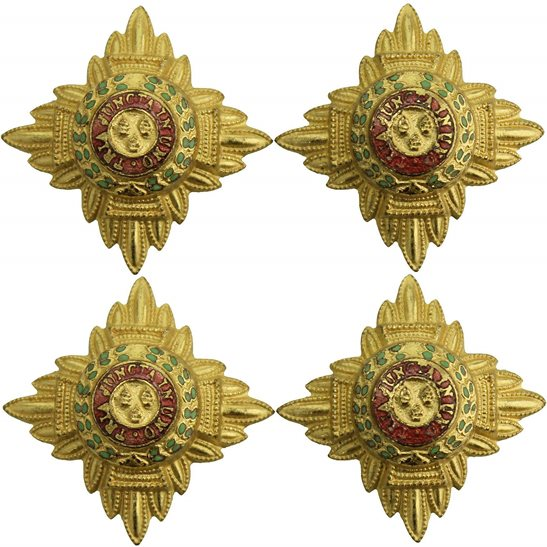 British Army Officers Insignia Pips - Rank of Lieutenant Set PAIR - 26mm