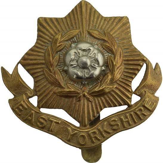 East Yorkshire WW2 East Yorkshire Regiment Cap Badge