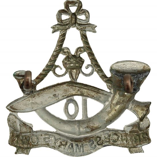 additional image for WW2 10th Gurkha Rifles (Princess Marys Own) Regiment Cap Badge