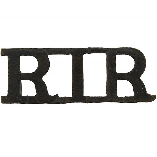 Royal Irish Regiment Royal Irish Regiment Shoulder Title