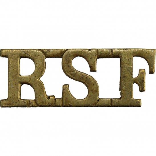 Royal Scots Fusiliers Royal Scots Fusiliers Regiment (RSF Scottish) Shoulder Title