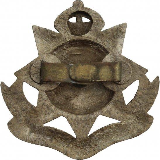 additional image for WW2 East Surrey Regiment PLASTIC Economy Issue Cap Badge