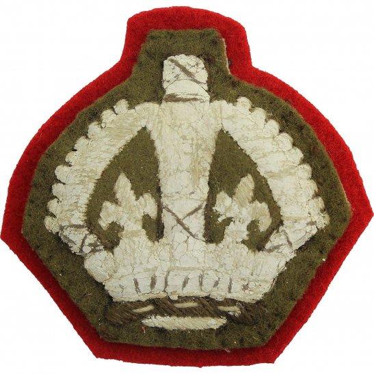 WW2 Cloth Warrant Officer 3rd Class Arm / Sleeve Insignia Badge