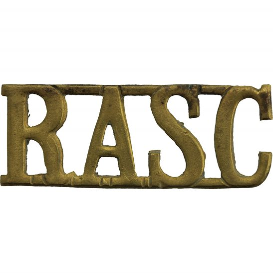Royal Army Service Corps RASC WW2 Royal Army Service Corps RASC Shoulder Title